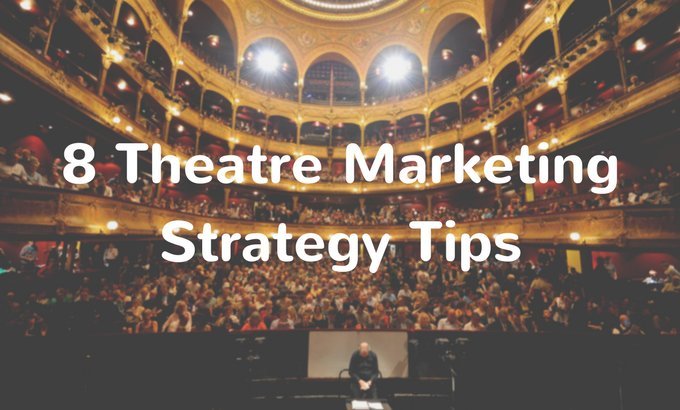 theatre marketing strategy tips - onebox