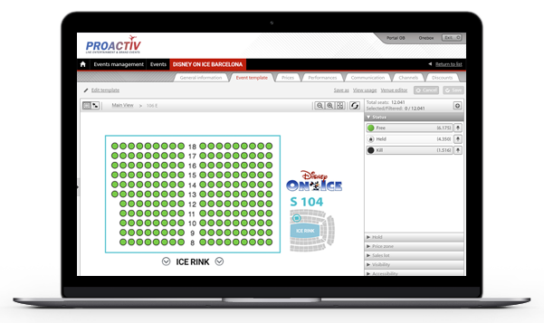 total centralised control - benefits of a ticketing distribution system - onebox